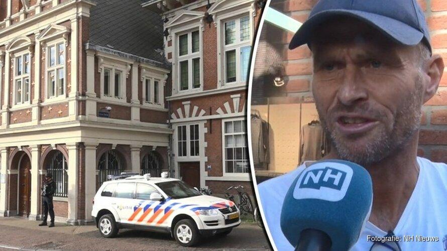 """Opgevoerde beveiliging rond Haarlems stadhuis: """"Net alsof ik in een game loop"""""""