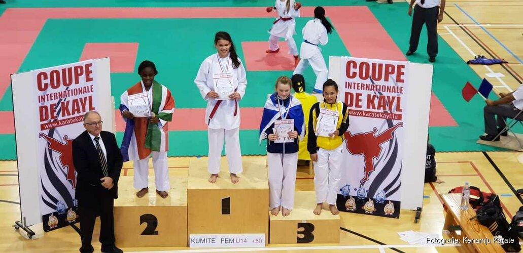Kenamju Karate behaalt 4 prijzen tijdens internationale Coupe de Kayl