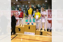 Kenamju Karate behaalt 4 prijzen tijdens internationale Coupe de Kayl