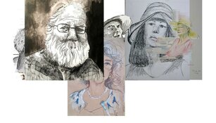 Laat u portretteren door kunstenaars van Kunst Zij Ons Doel