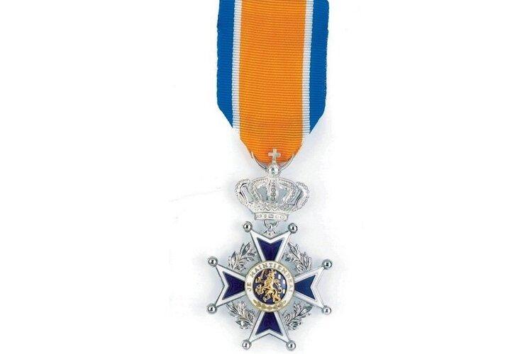 Koninklijke onderscheiding voor mevrouw J.M. Hutter-Visser uit Heemstede