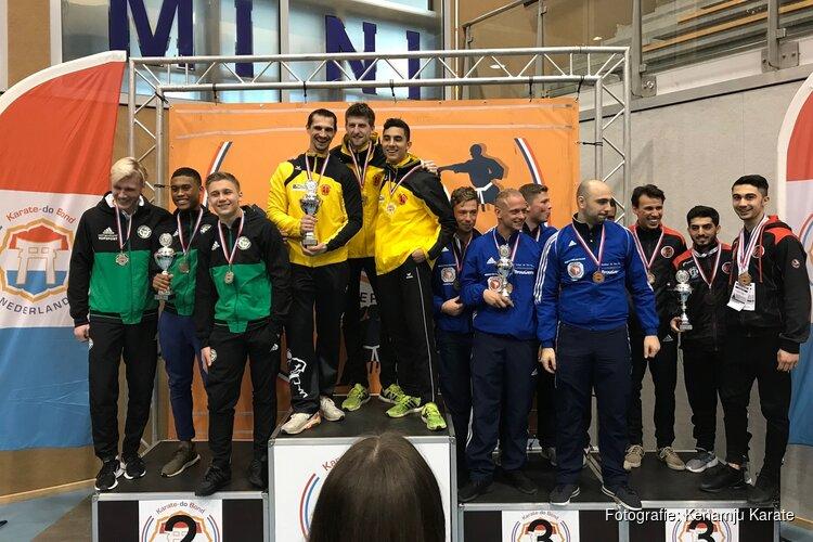10 prijzen voor Kenamju Karate tijdens NK 2019 senioren & teams