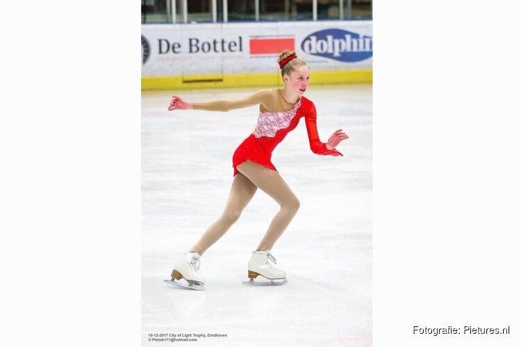 Claire Koutstaal uit Santpoort Noord wint brons op het KNSB Nationale Finales