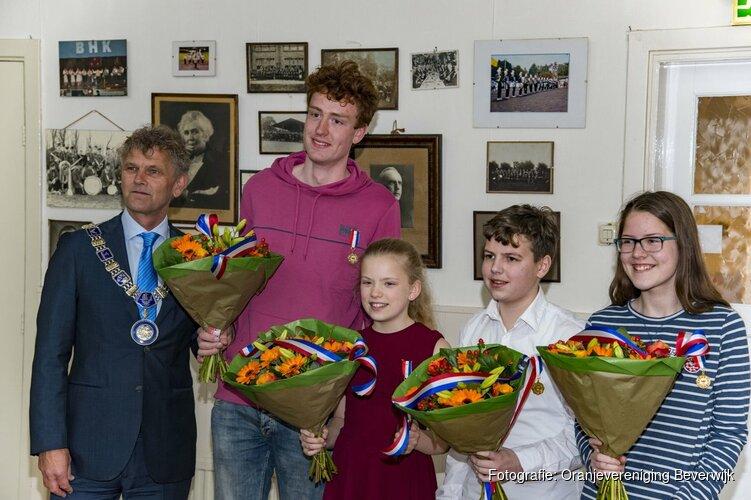Beverwijkse Jongerenlintjes 2019 uitgereikt door Burgemeester Martijn Smit