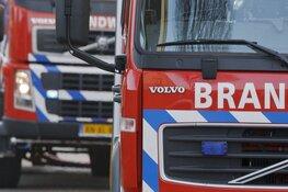 Woningbrand in Spaarndam, Spaarndammerdijk lange tijd afgesloten