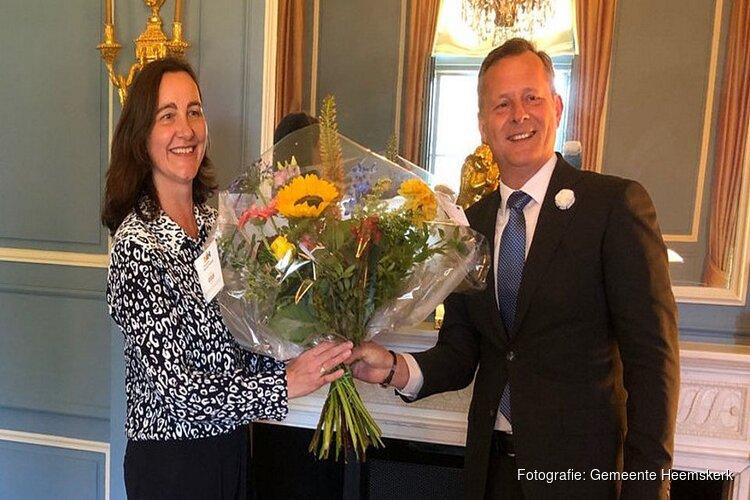 Mieke Baltus is herbenoemd als burgemeester van Heemskerk