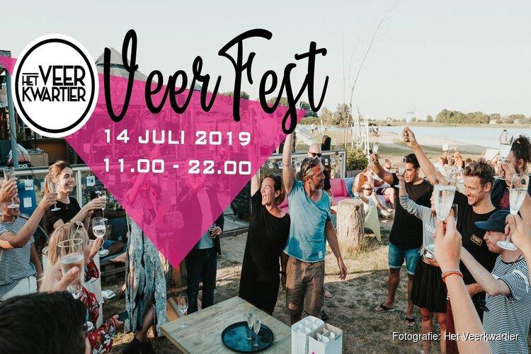Veerfeest bij Het Veerkwartier op 14 juli 2019
