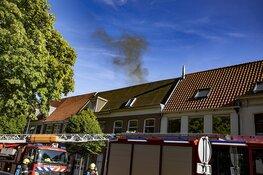 Brand in pand centrum Haarlem, onderzoek naar aanwezigheid asbest