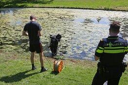 Duikers halen buit van inbrekers boven water in Overveen