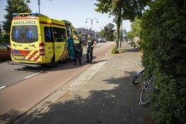 Oudere vrouw onwel door hitte in Heemstede
