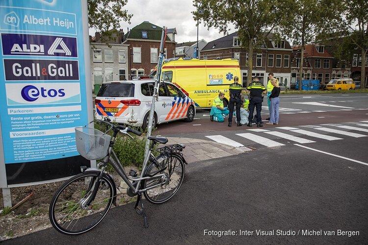 Oudere vrouw lichtgewond bij ongeval Westergracht in Haarlem