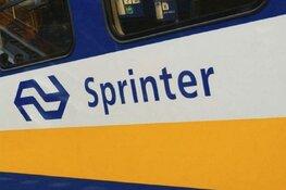 Brand in coupé van sprinter bij station Haarlem