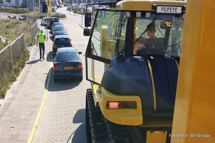 """Auto's weggesleept na blokkeren KNRM in Wijk aan Zee: """"Het zou duidelijk moeten zijn"""""""