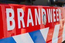 Autobrand in Beverwijk