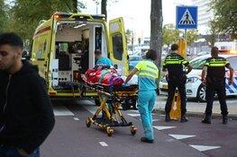 Fietser gewond na botsing met maaltijdbezorger