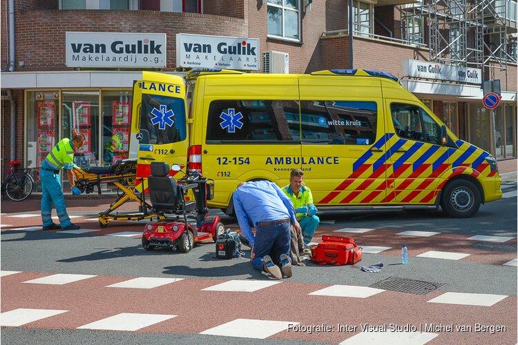 Bestuurder scootmobiel gewond bij ongeval in Beverwijk