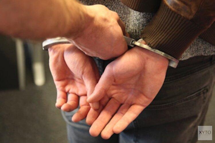 Inbreker op heterdaad betrapt