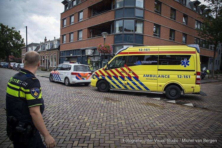 Fietser gewond na valpartij Raadhuisstraat Heemstede