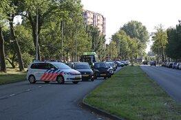 Motorrijder gewond bij val op Prins Bernhardlaan