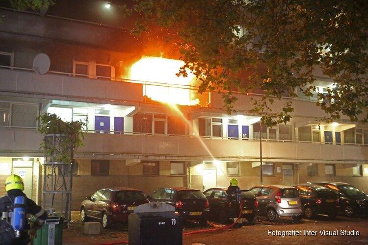 Verdachte van stichten Haarlemse flatbrand 90 dagen langer in voorarrest