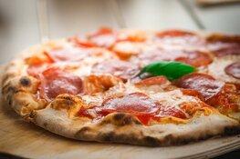 Pizzabezorger slaat van zich af