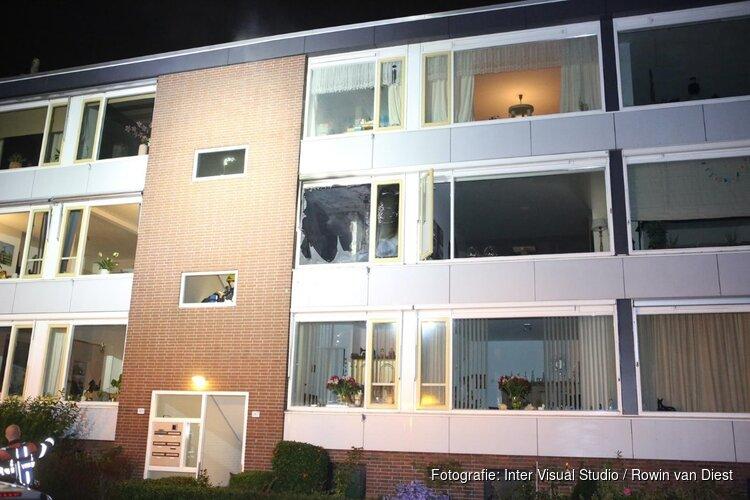 Brand in appartement Haarlem