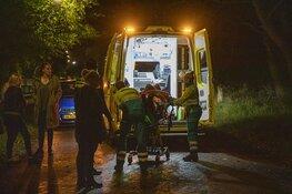 Motorrijder botst op hert in Driehuis