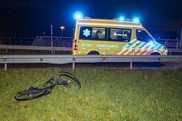 Fietser ernstig gewond na ongeval Rijksweg Velsen-Zuid