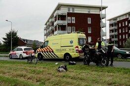 Motorfiets ten val in Uitgeest