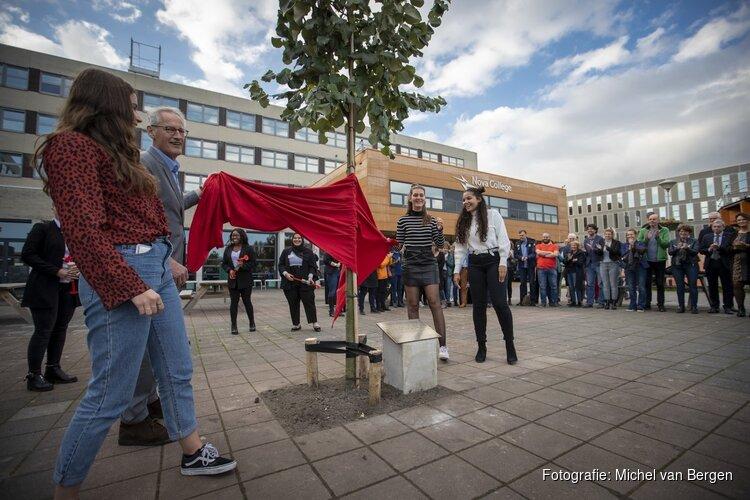 Eerste boom Nova Campus Haarlem