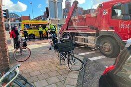 Truck rijdt moeder en kind aan in Haarlem