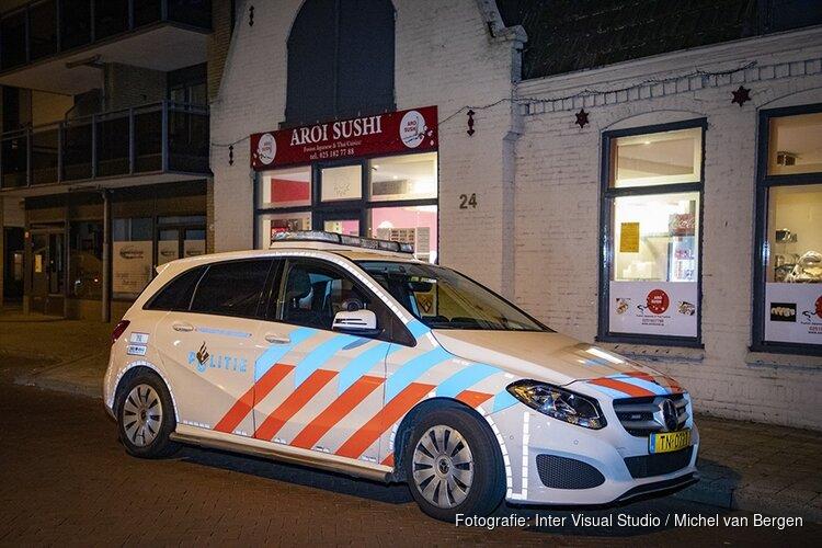Weer overval in Heemskerk, dit keer sushi-shop