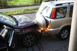 Vier auto's betrokken bij kettingbotsing op N206 in Vogelenzang