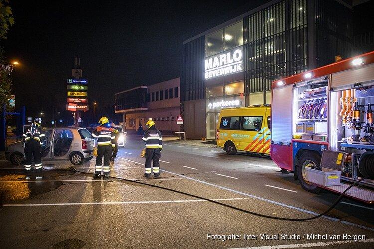 Autobrandje Beverwijk door sigaret van slapende man
