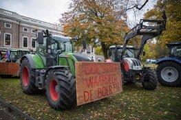 Boeren protesteren voor provinciehuis Noord Holland