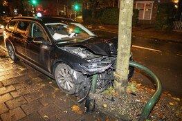 Forse schade bij ongeval op de Lanckhorstlaan in Heemstede
