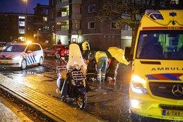 Scooterrijdster gewond na ongeval Jan Gijzenkade Haarlem
