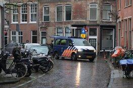 Straat afgezet in Haarlem, marechaussee doet onderzoek