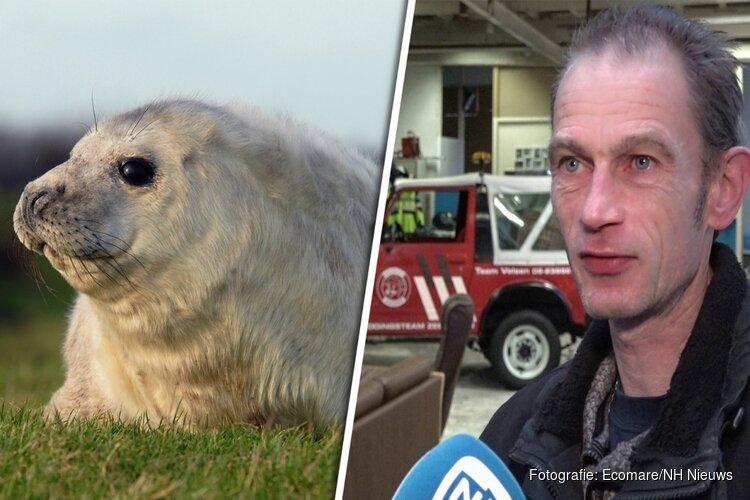 """Oproep RTZ Velsen: """"Laat zeehondenpups met rust"""""""