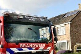Slimme bewoner blust met tuinslang een brandje in woning Heemskerk