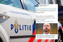 Politie Haarlem trekt tweet over taakstraf Marco Kroon terug na ophef