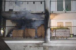 Brand in flat in Haarlem
