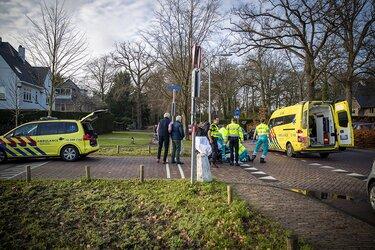 Scooterrijdster gewond bij ongeval in Heemstede