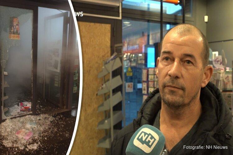 """Eigenaar van beroofde winkel Haarlem: """"Ze hebben geen idee wat ze je aandoen"""""""