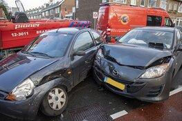 Aanrijding op de Jan Gijzenkade in Haarlem zorgt voor overlast