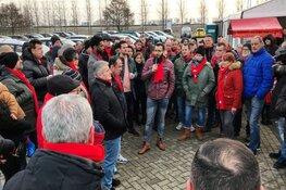 """Woedende Etos-medewerkers ballen hun vuist: """"We vechten verder"""""""