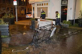 Woningbrand blijkt afvalbrand in centrum van Haarlem
