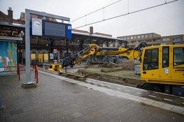 Werkzaamheden aan station Zandvoort in volle gang