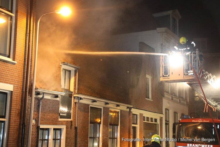 Brand in woning Overveen