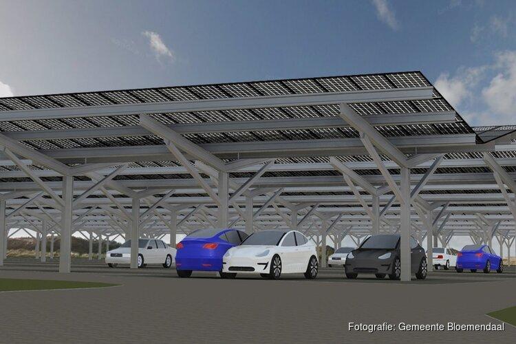 Bloemendaal aan Zee krijgt uniek zonnepark met parkeergelegenheid